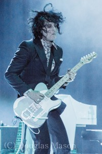 Jack White performs during the Bonnaroo music and arts festival