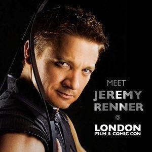 Jeremy Renner @ London Comic Con