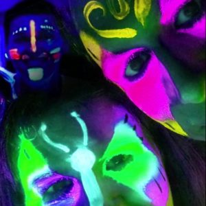 "Kaleidoscope ""Get Creative! a series of glow media"