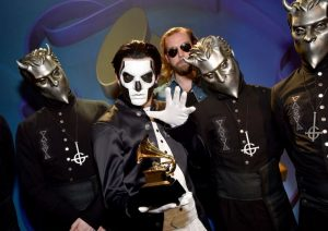 Metal band Ghost at 58th Annual GRAMMYS