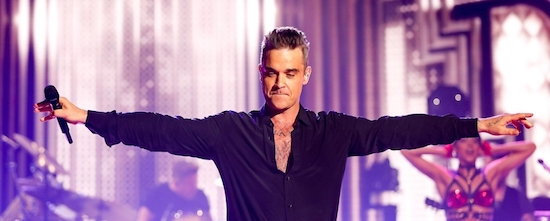 BRITs Icon Award 2016 - Robbie Williams. Photo Credit John Marshall - jmenternational.com