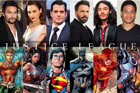 Justice League cast