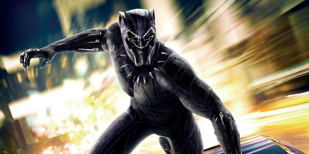 Marvel Studios releases The Black Panther in 2018