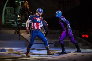 Captain America featured in Marvel Universe LIVE!