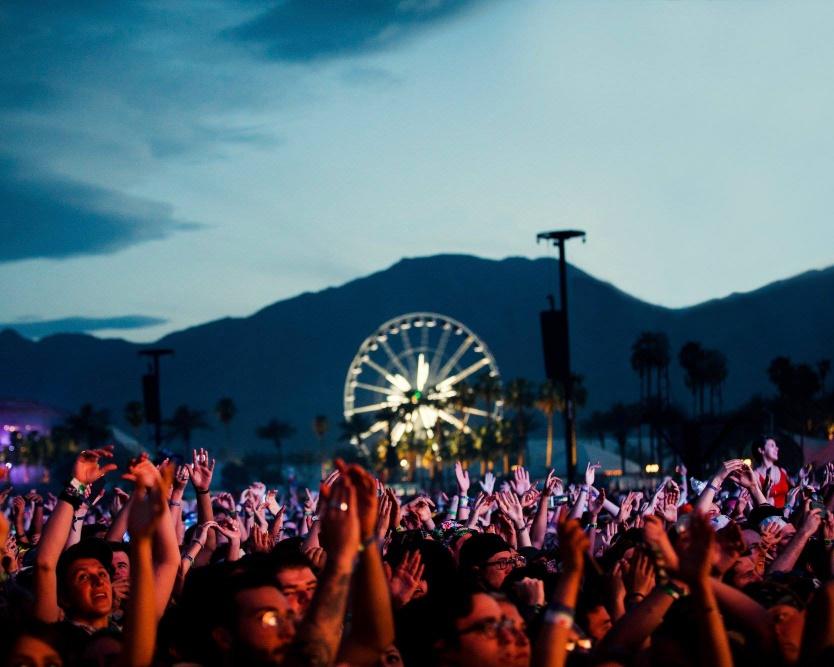 Coachella art and music festival